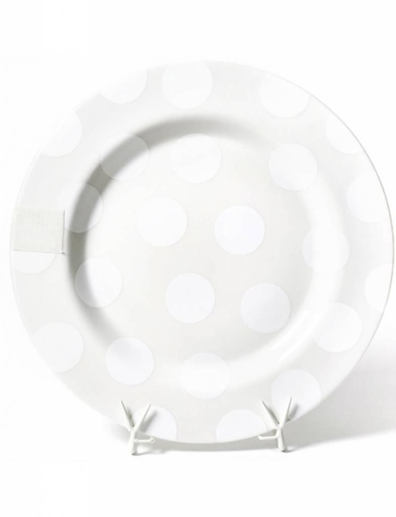 White Dot Entertaining Big Platter