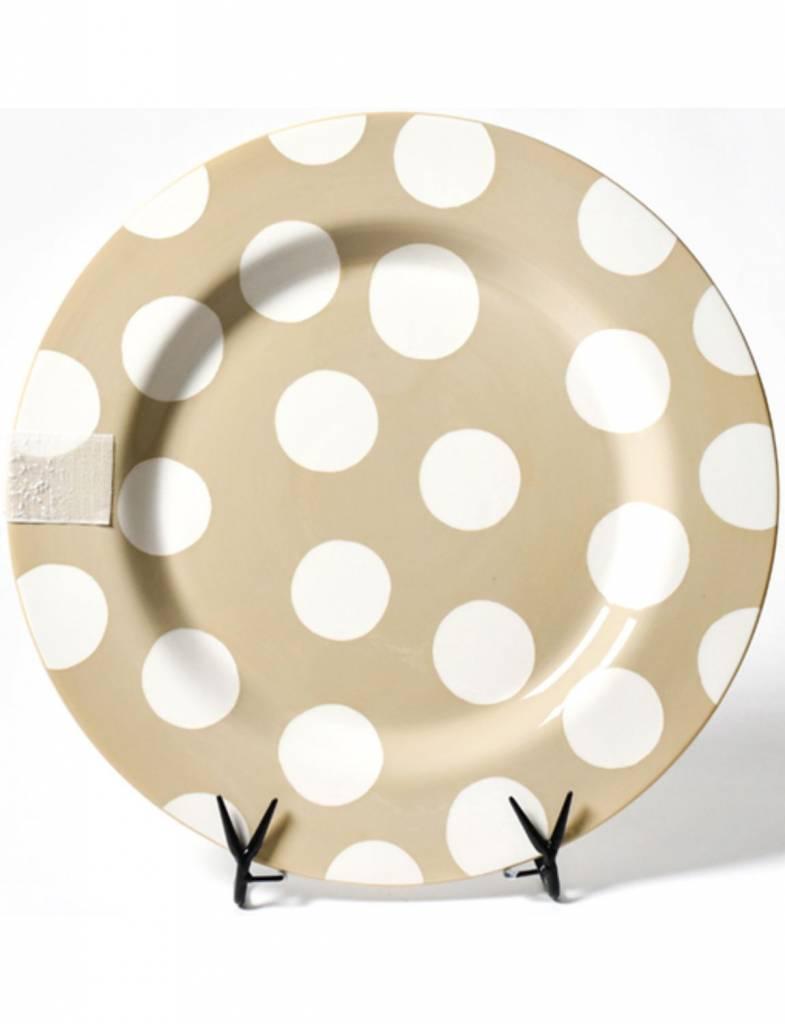 Neutral Dot Entertaining Big Platter