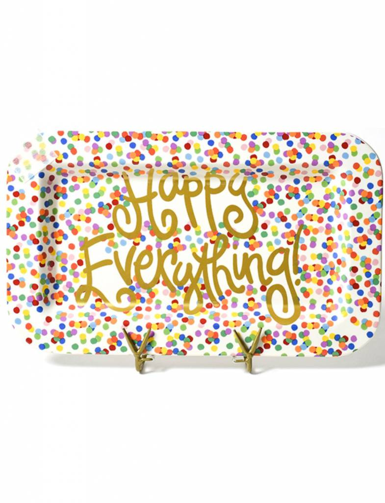 Toss Happy Everything Mini Rectangle Platter