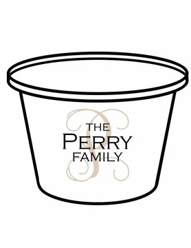 Acrylic Party Bucket-ACR 14-Traditional