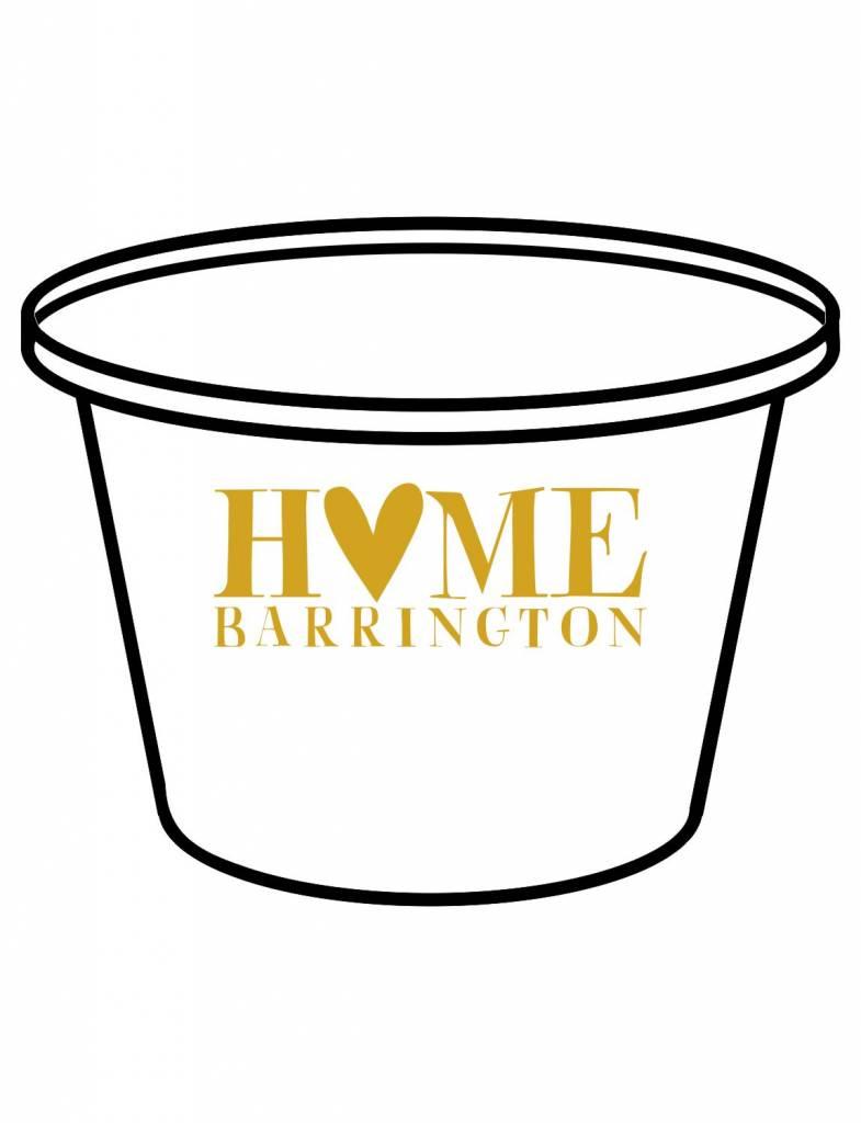 Acrylic Party Bucket-ACR 69-Hometown Heart
