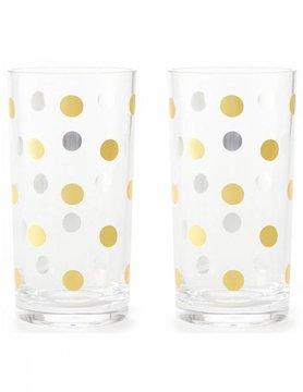 Kate Spade Raise A Glass Highball Glasses