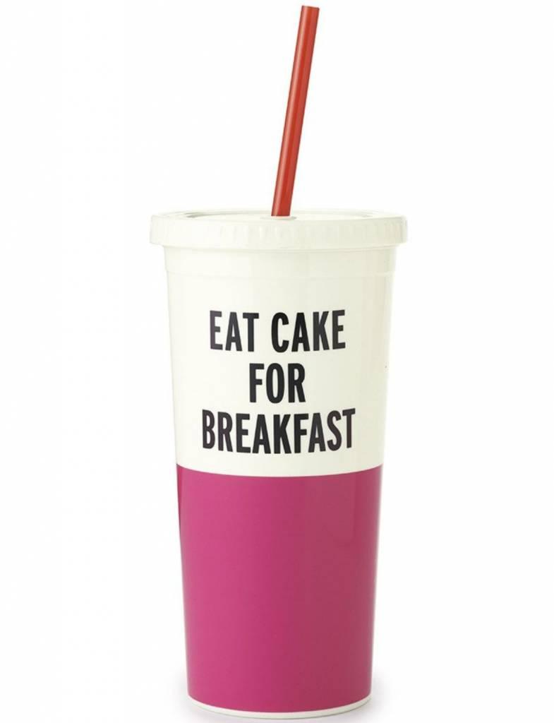 Kate Spade Insulated Tumbler, Eat Cake For Breakfast