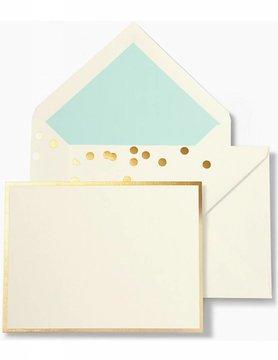 Kate Spade Notecard Set, Cue The Confetti