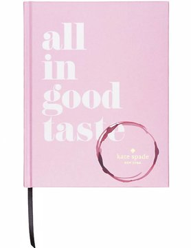 Abrams Kate Spade All In Good Taste Book