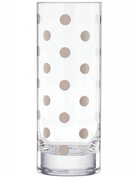 Kate Spade Pearl Place Platinum Cylinder Vase