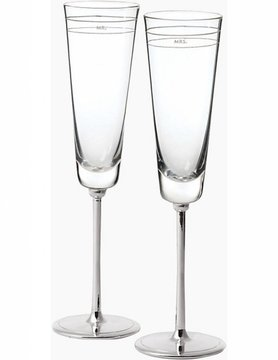 Kate Spade Darling Point Toasting Flute Pair