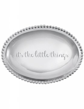 """3205LT """"It's the Little Things"""" Small Oval Tray"""