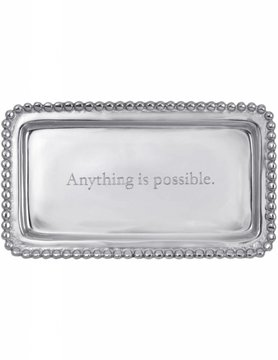 "3905AP ""Anything is possible."" Tray"