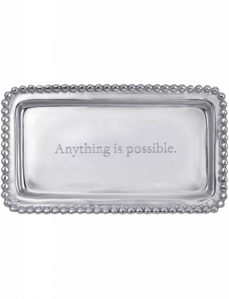 """3905AP """"Anything is possible."""" Tray"""