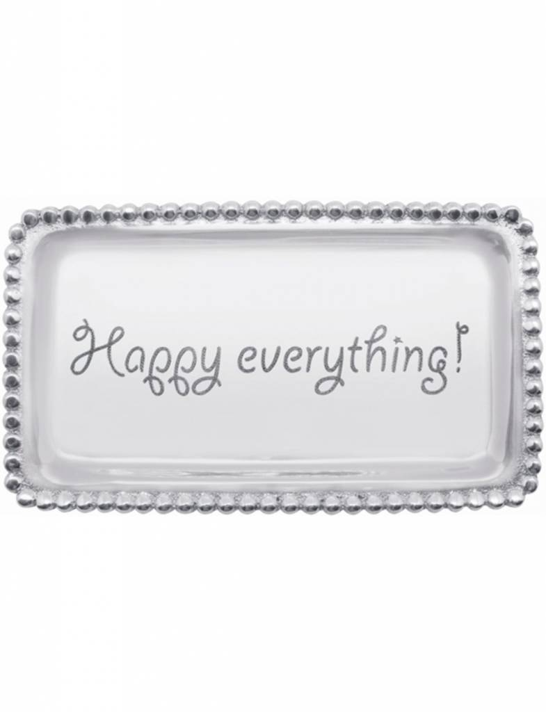 """3905HE Tray """"Happy Everything"""""""