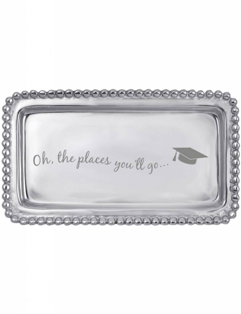 """3905OH """"Oh the Places You'll Go"""" Statement Tray"""