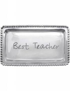 "3905TE ""Best Teacher"" Tray"