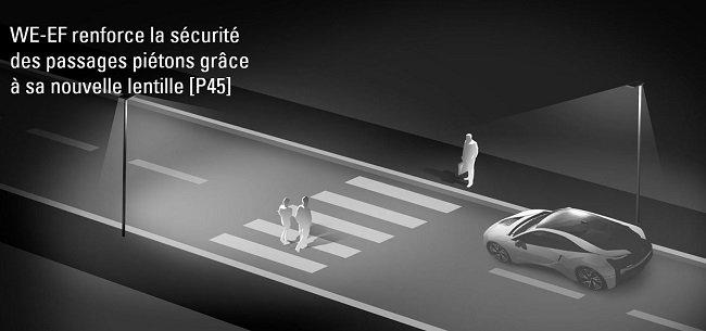 We-ef renforce la sécurité des passages piétons grâce à sa nouvelle lentille