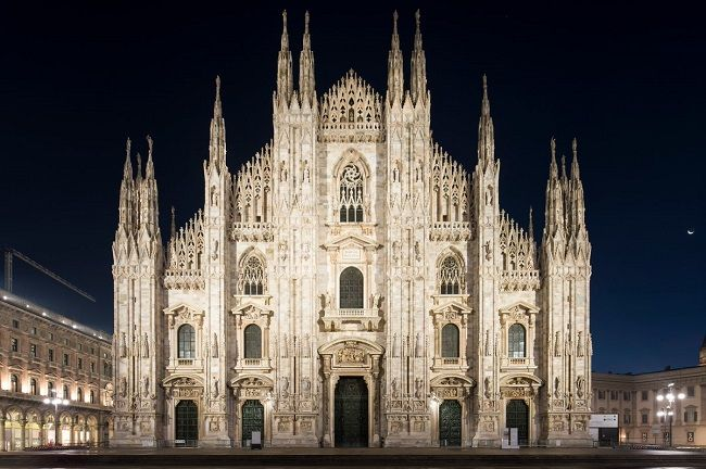 A cathedral of light:  The new outdoor lighting of Milan Cathedral