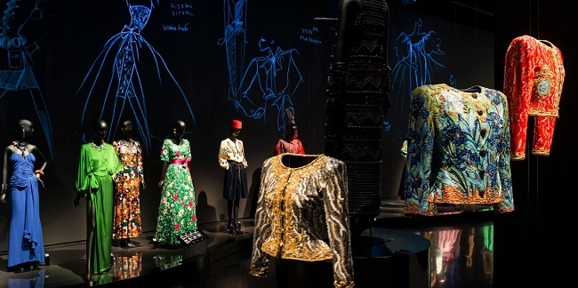 ERCO au service d'un concept d'exposition glamour : le musée Yves Saint Laurent à Marrakech