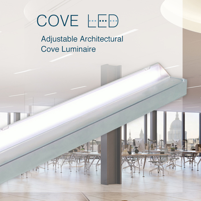 Pinnacle Cove LED Adjustable Architectural Cove Luminaires