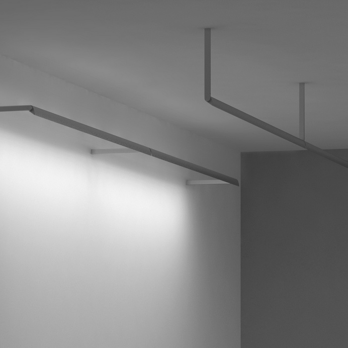 Vode Lighting WingRail Ceiling-Wall-Arm 107