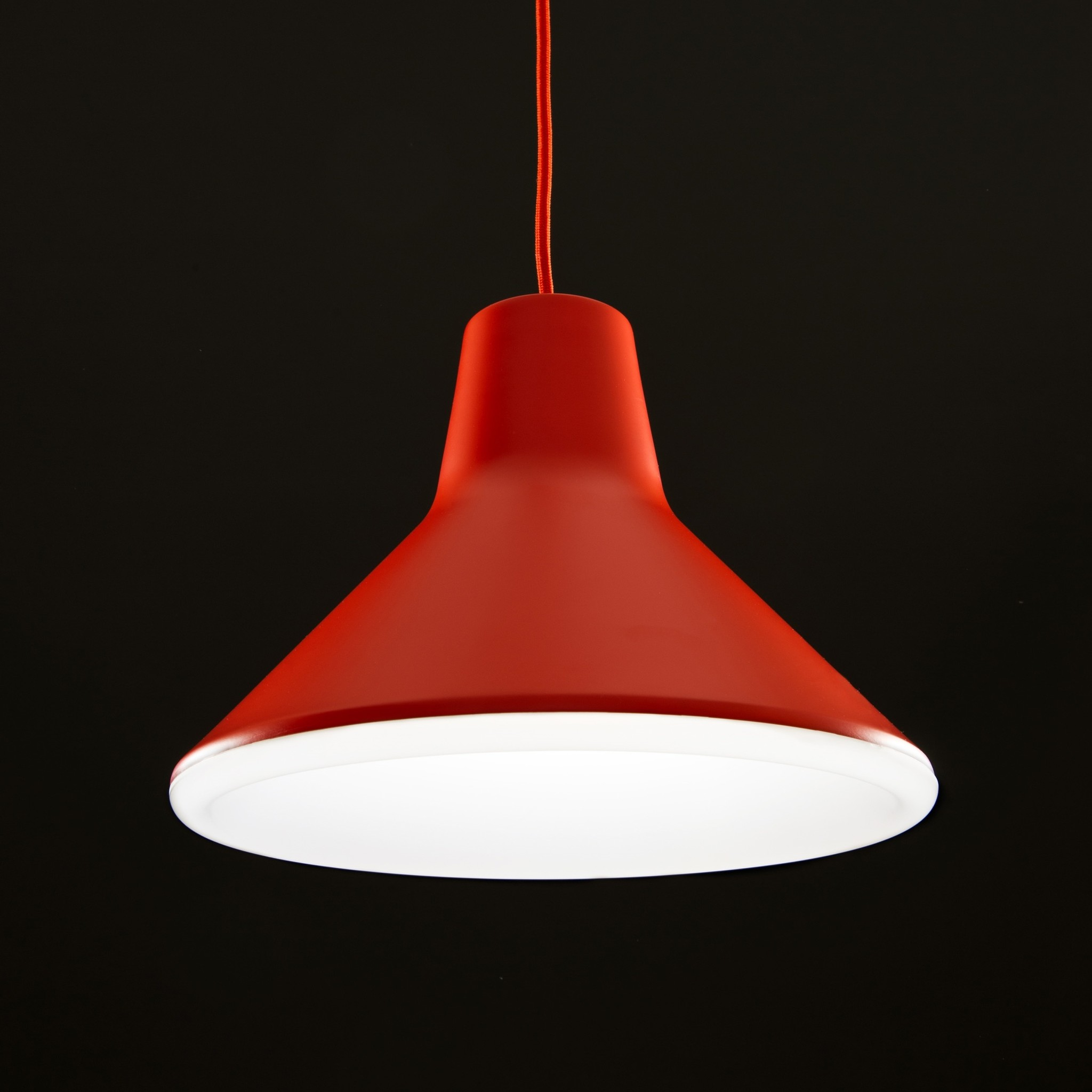 Luceplan Archetype Red Suspension