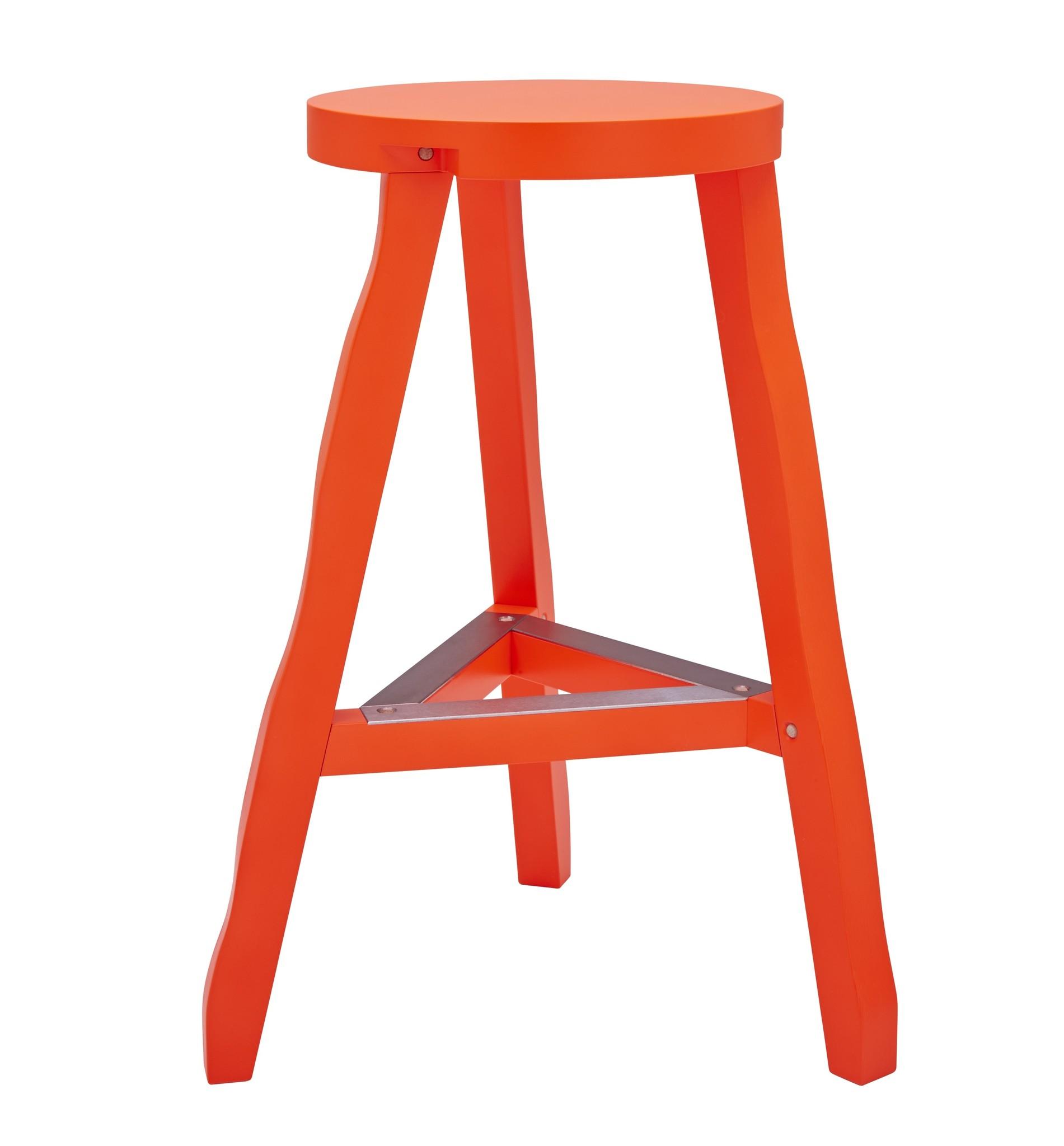 Tom Dixon Mobilier Offcut Stool Fluoro (Red)