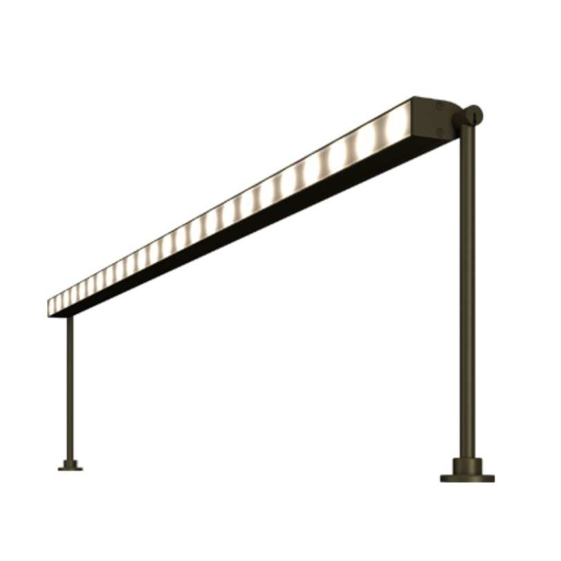 MP Lighting L162 Linear strip light with 1W LEDs.