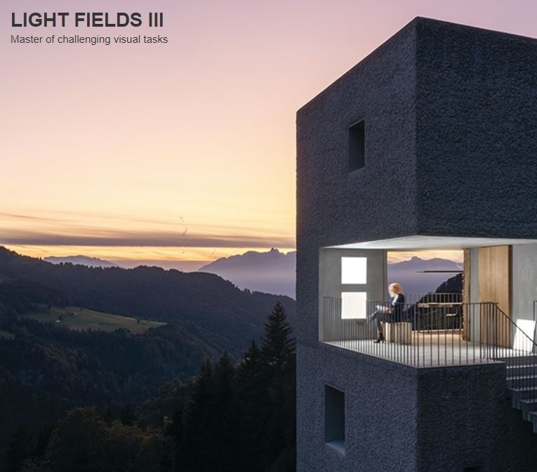 Zumtobel Light Fields III Surface Mounted