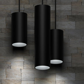 LED Pipe 5'' Round Fixed Pendant