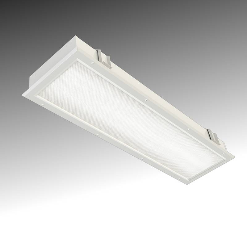 Recessed Luminaire for Sealed Room