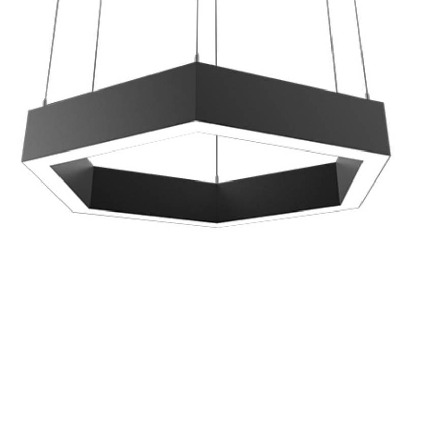 Deco Lighting Vector Hex Pendant