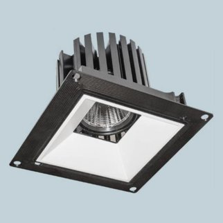 Graffiti Lighting Square Flange Downlight Adjustable