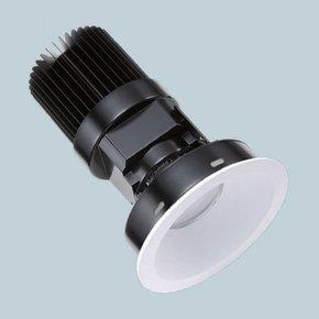 Round Flangeless Downlight Adjustable