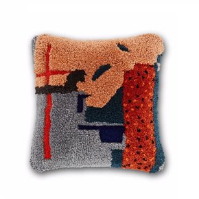 Abstract Cushion