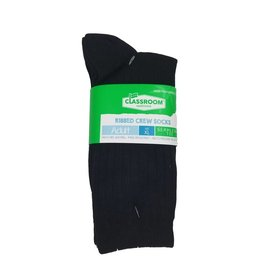 NAVY CREW SOCKS 3-PACK