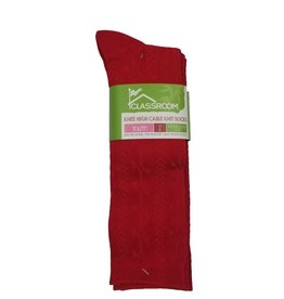 CLASSROOM RED CABLE KNEE HI SOCKS 3-PACK