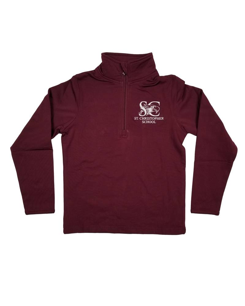 Elder Manufacturing Co. Inc. ST. CHRISTOPHER 1/4 ZIP PERFORMANCE PULLOVER