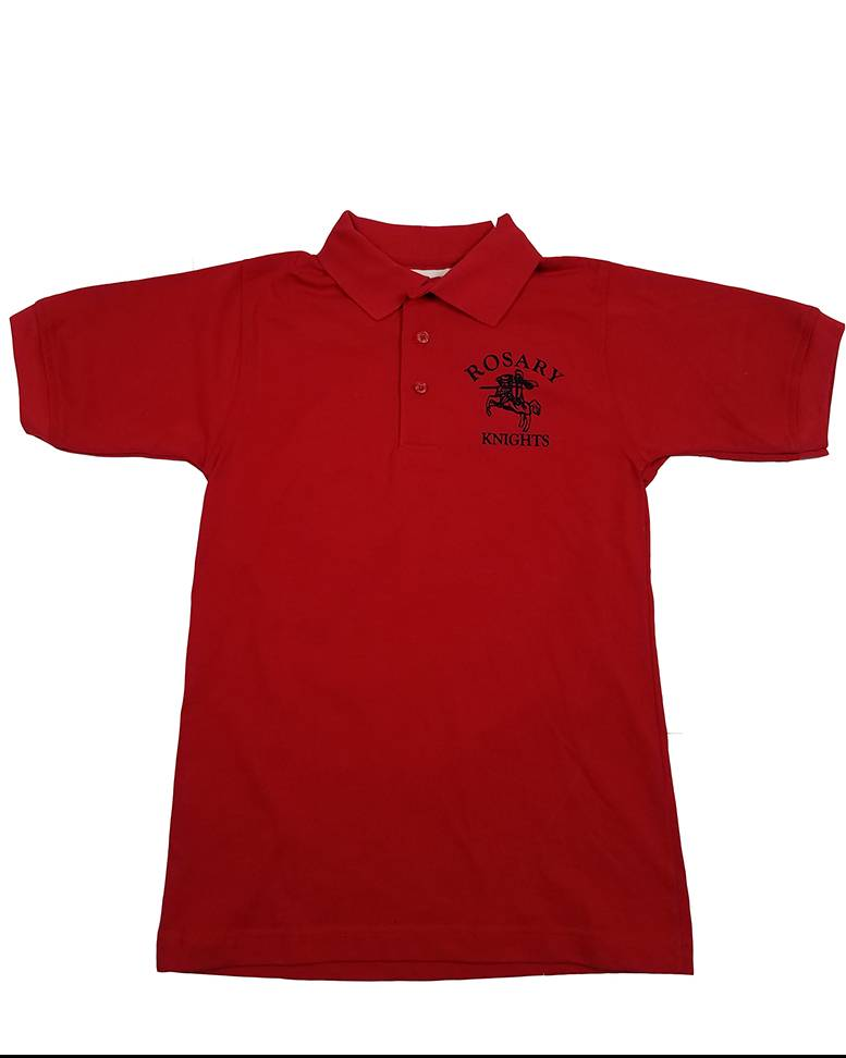 Elder Manufacturing Co. Inc. OLOR RED GYM SHIRT