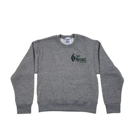 Heritage Sportswear ST. MICHAEL WORTHINGTON SWEATSHIRT WITH CREST