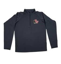 In House Embroidery BISHOP WATTERSON MENS 1/4 ZIP WICKING PULLOVER