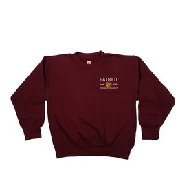 School Apparel, Inc. PATRIOT PREP SWEATSHIRT W/CREST