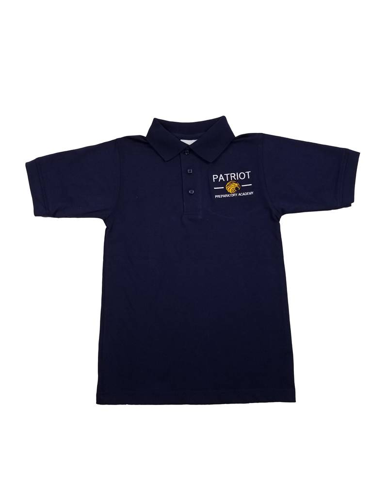 Elder Manufacturing Co. Inc. PATRIOT PREPARATORY ACADEMY  SS POLO SHIRT