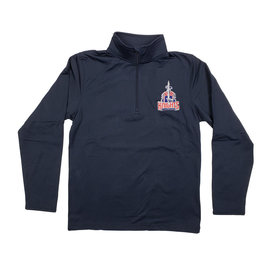 Elder Manufacturing Co. Inc. FAIRFIELD CHRISTIAN 1/4 ZIP DRY FIT PULLOVER