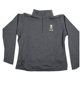 In House Embroidery LEGACY CHRISTIAN WOMENS 1/4 ZIP DRY FIT PULLOVER