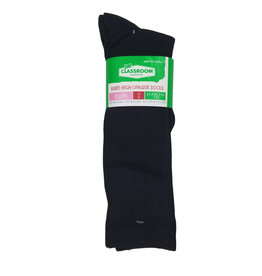 CLASSROOM NAVY OPAQUE KNEE HI SOCKS 3-PACK E