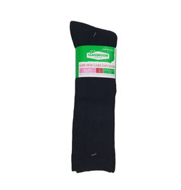 CLASSROOM NAVY CABLE KNEE HI SOCKS 3-PACK E