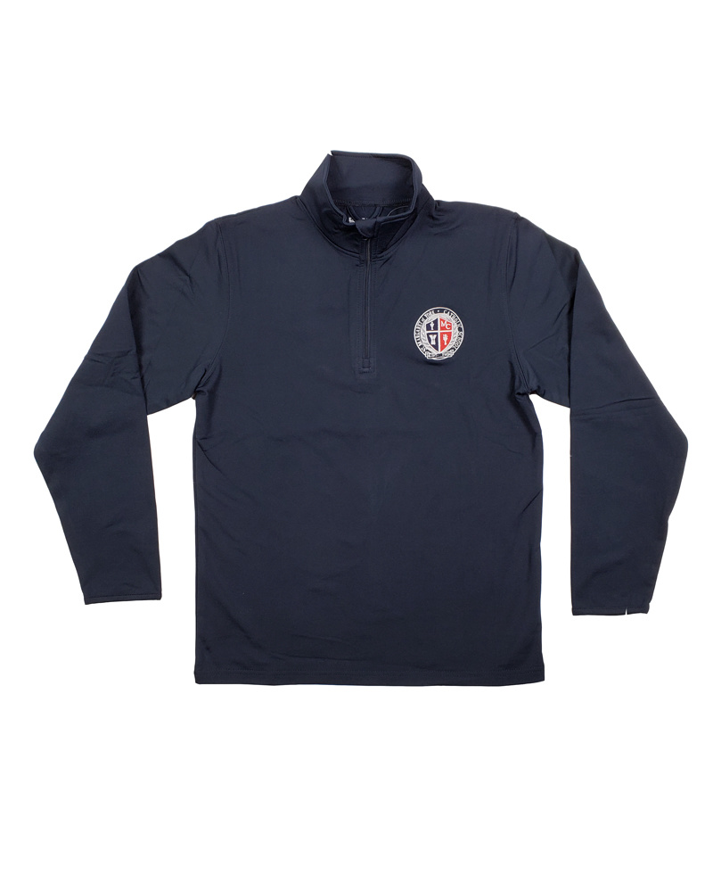 Elder Manufacturing Co. Inc. ST MARGARET OF YORK 1/4 ZIP PERFORMANCE PULLOVER