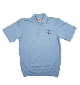 School Apparel, Inc. LEHMAN CATHOLIC SS BANDED BOTTOM POLO