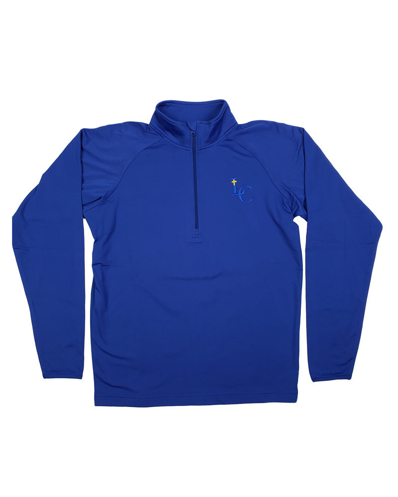 In House Embroidery LEHMAN CATHOLIC MENS PERFORMANCE PULLOVER