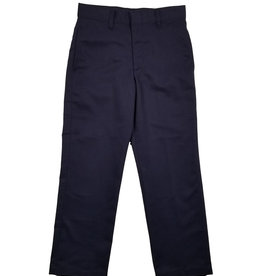 Elder Manufacturing Co. Inc. BOY/MENS FLAT FRONT PANTS NAVY 6