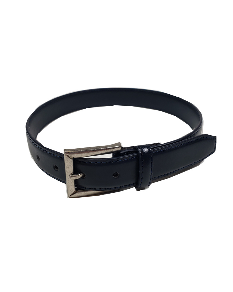 Aquarius LTD CLASSIC NAVY LEATHER BELT 3