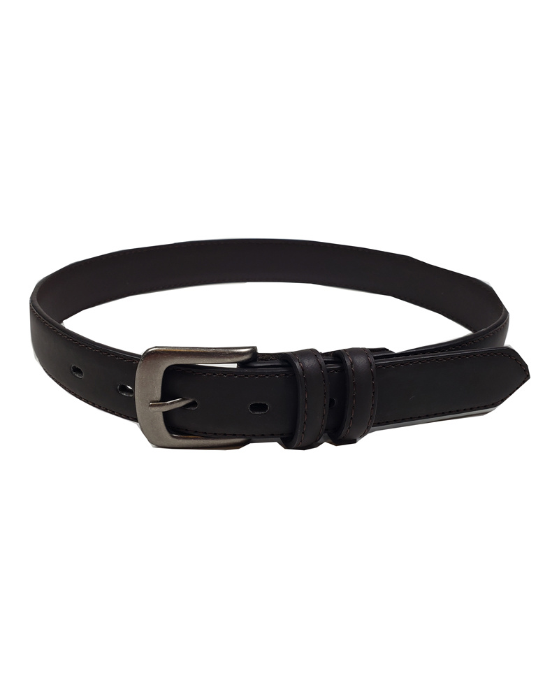 Aquarius LTD CLASSIC BROWN LEATHER BELT